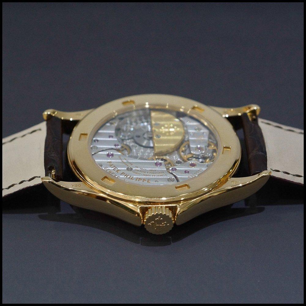 Patek Philippe World Time 5110 18K Rose Gold Mens Watch - 4