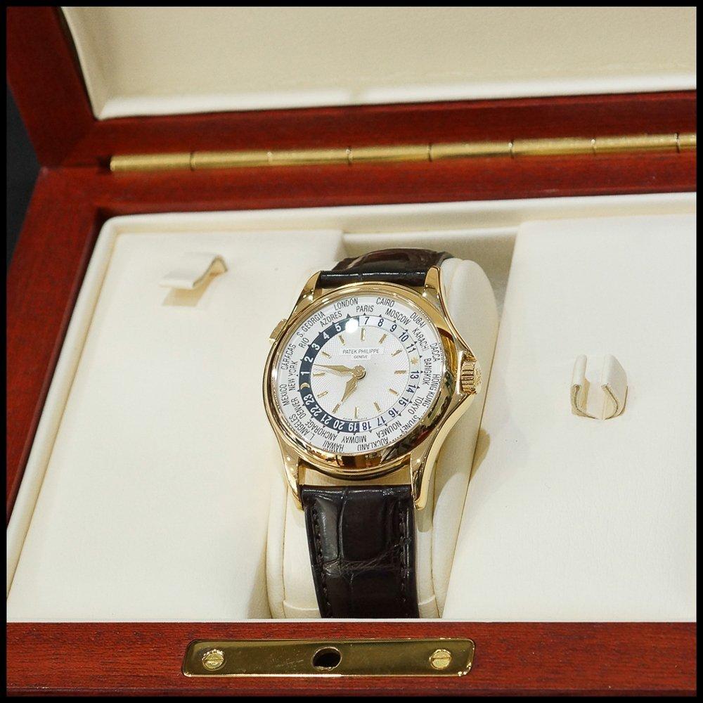Patek Philippe World Time 5110 18K Rose Gold Mens Watch - 5