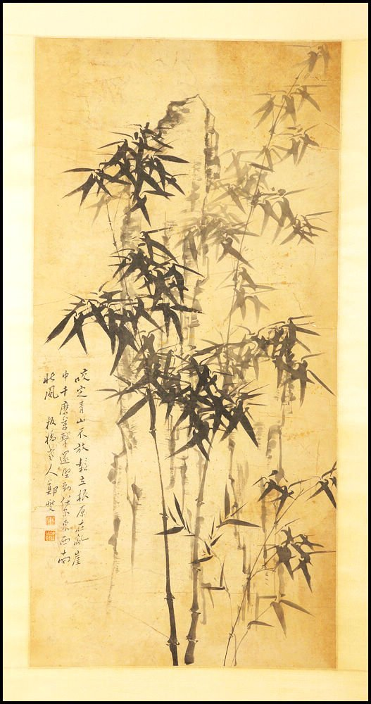 CHINESE SCROLL PAINTING (Bamboo)