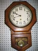 808: SESSIONS REGULATOR CLOCK. OAK