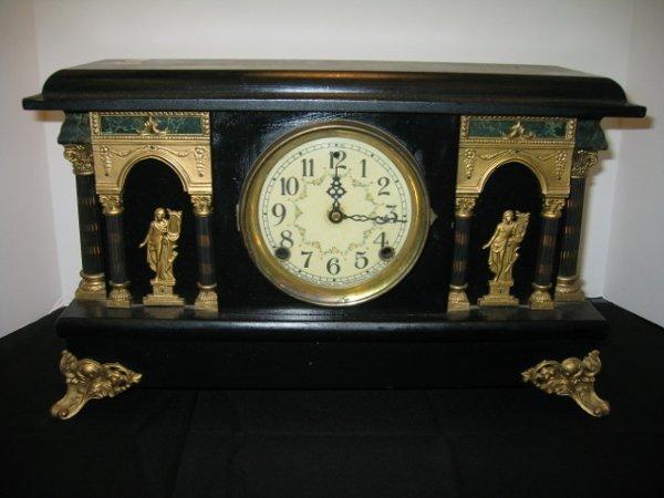 101: SESSIONS MANTEL CLOCK, FORESTVILLE, CONN.