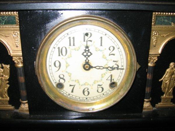 101: SESSIONS MANTEL CLOCK, FORESTVILLE, CONN. - 3