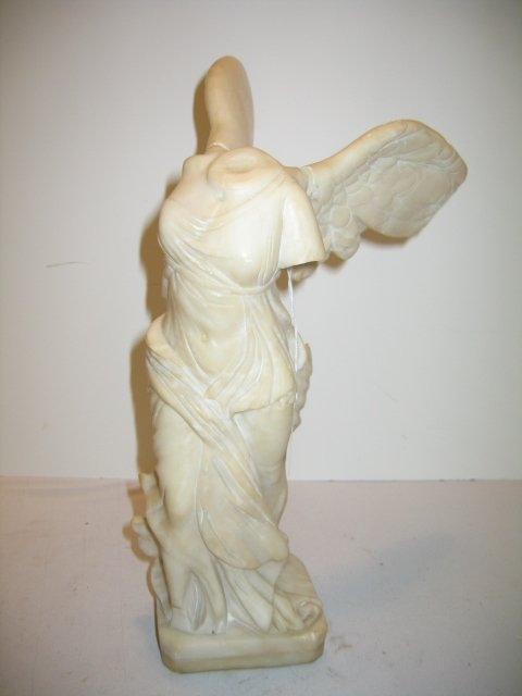 "117: MARBLE WINGED VICTORY STATUE, ""NIKE"""