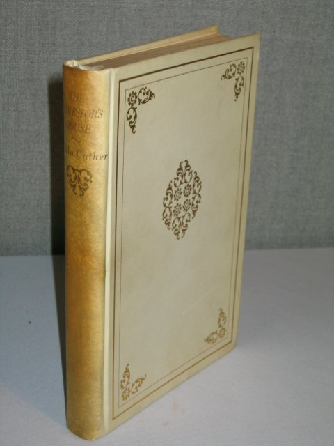 """22: 1925 1ST ED. SGD W. CATHER """"THE PROFESSOR'S HOUSE"""""""