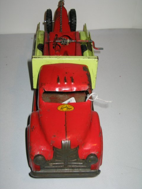 146: LINCOLN TOY TOW TRUCK. PRESSED STEEL - 2
