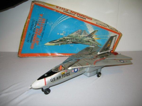 194: BATTERY OPERATED JAPAN GRUMMAN F111A JET FIGHTER