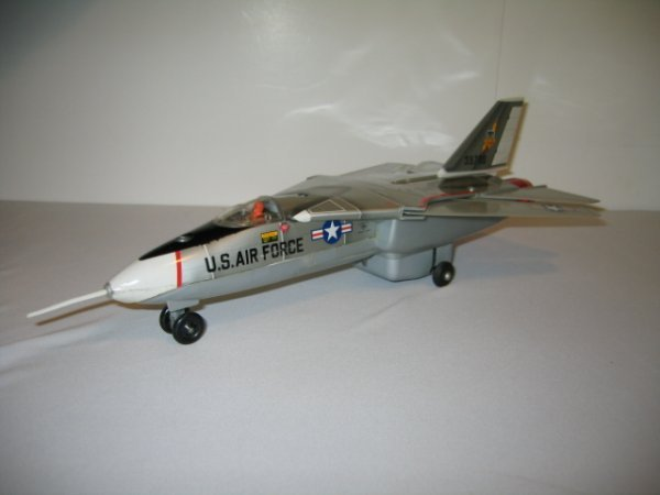 194: BATTERY OPERATED JAPAN GRUMMAN F111A JET FIGHTER - 2