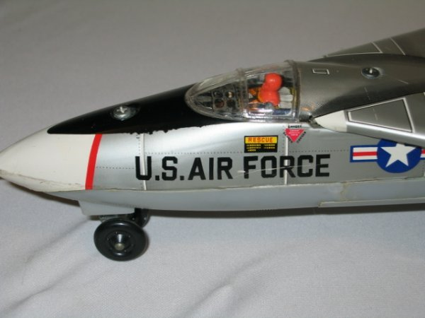 194: BATTERY OPERATED JAPAN GRUMMAN F111A JET FIGHTER - 6