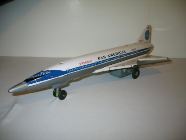 201: SST BOEING 2707 AIRPLANE WITH BOX - 2