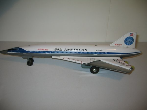 201: SST BOEING 2707 AIRPLANE WITH BOX - 3