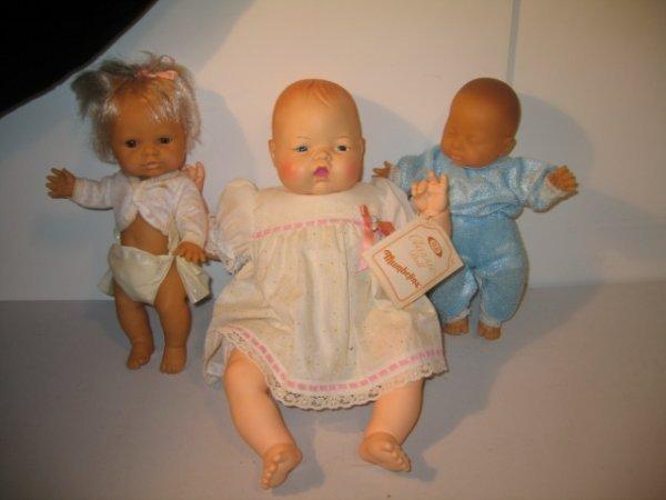 415: 3 BABY DOLLS, 1 THUMBELINA, 2 GERUSA BABIES