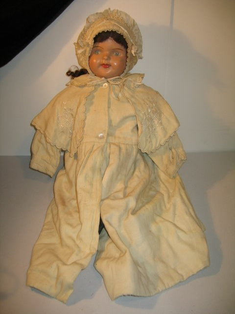 """417: EARLY AM DOLL CO. COMPOSITION DOLL, 24"""""""