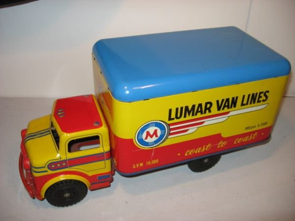 514: LUMAR VANLINES COAST TO COAST MOVING TRUCK