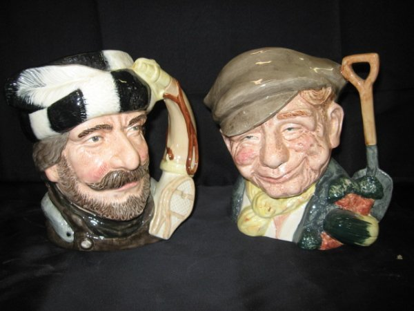 13: LOT OF 2 ROYAL DOULTON CHARACTER MUGS