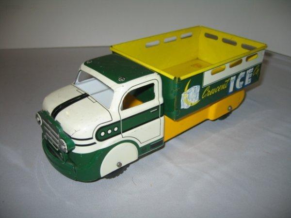 507: MARX CRESCENT ICE CO. TRUCK TIN LITHO