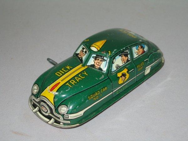 510: MARX TIN LITHO DICK TRACEY POLICE CAR