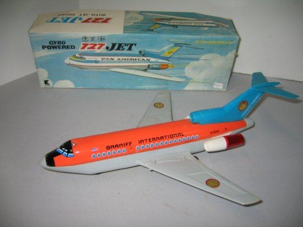 521: BRANIFF INTERNATIONAL PAN AM 727 JET W/BOX