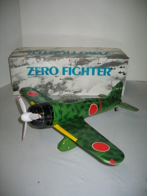 522: LEAD WORKS ZERO FIGHTER JAP PLANE W/ BOX