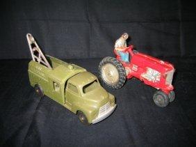 BELL TELEPHONE TRUCK & AUBURN TRACKTOR