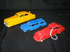 3 TOOTSIE TOY CARS