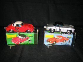 2 MICRO RACERS IN BOX