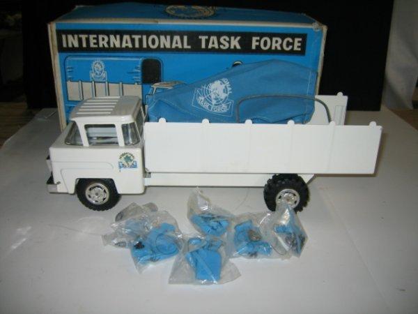 579: MARX INTERNATIONAL TASK FORCE STEEL TRUCK