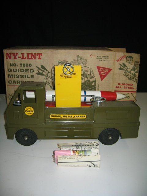580: NY-LINT NO. 2800 GUIDED MISSILE CARRIER