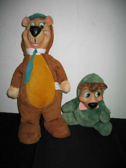 663 Knickerbocker Vintage Yogi Bear And Boo Boo
