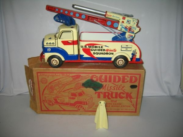 502A: MARX GUIDED MISSILE TRUCK IN BOX. NO.4488