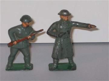483: AMERICAN METAL (AKA JONES) SOLDIERS, 2 TOTAL