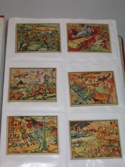 "1: GUM CARDS, ""HORRORS OF WAR"", #1-239, 1938"