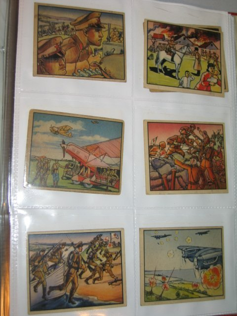 """2: GUM CARDS """"HORRORS OF WAR"""" 2ND SERIES, 46 TOTAL"""