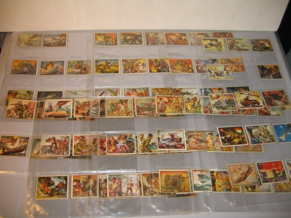 8A: GUM CARDS, FREEDOM'S WAR, BATTLEGROUND-KOREA