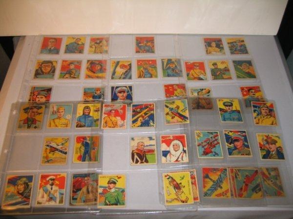8B: SKY BIRDS GUM CARDS, 1933, 1-89, SOME MISSING