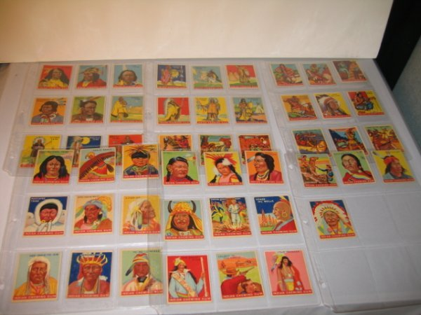 8C: INDIAN CHEWING GUM CARDS, GOUDEY GUM CO.