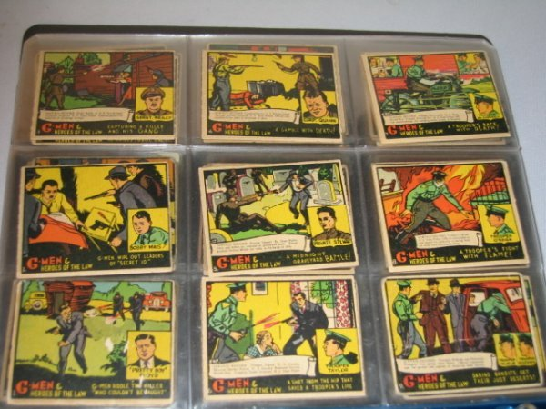 8H: G-MEN  GUM CARDS