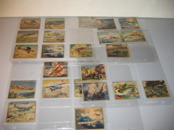 8J: GUM CARDS, MISCELLANEOUS ARMS OF THE WORLD.