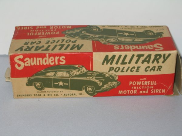 56: SAUNDERS MILITARY POLICE CAR & COURTLAND  ANTI-TAN - 6