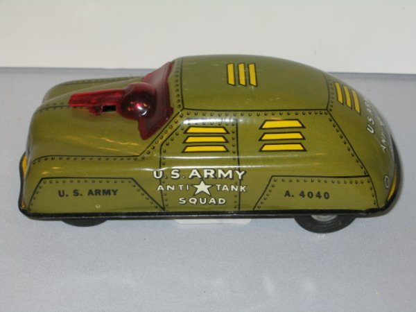 56: SAUNDERS MILITARY POLICE CAR & COURTLAND  ANTI-TAN - 7