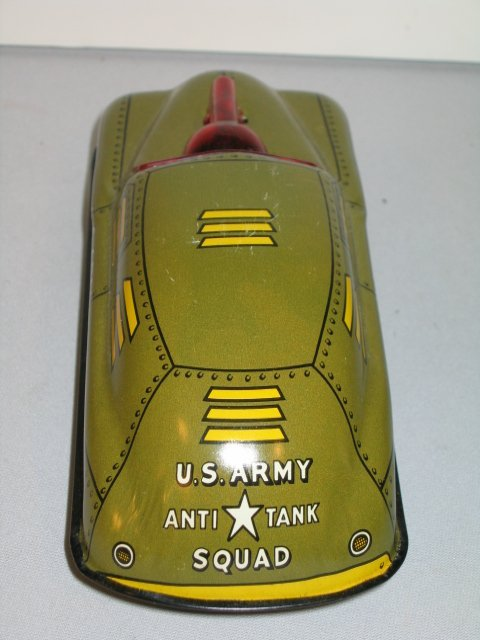 56: SAUNDERS MILITARY POLICE CAR & COURTLAND  ANTI-TAN - 8