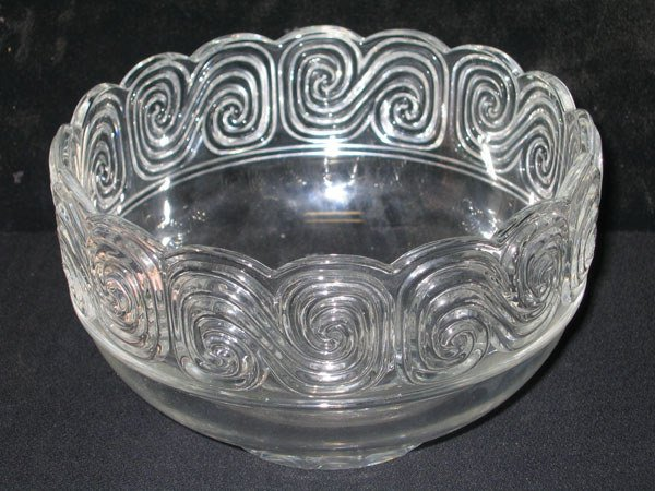454: TIFFANY BOWL FROM LOUIS COMFORT TIFFANY COLLECTION