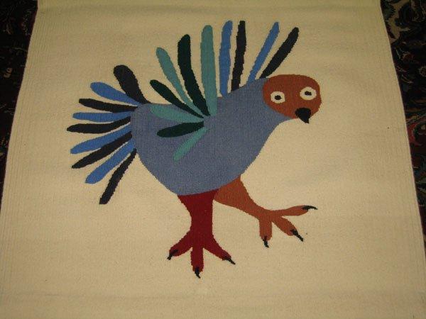 535A: INUIT BIRD WEAVING; KILABUK; PANGNIRTUNG.