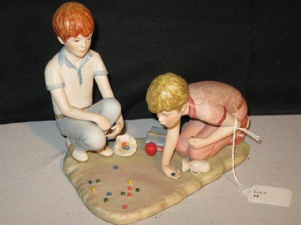 "18: CYBIS ""RUSTY & JONNY, BOYS PLAYING MARBLES"""