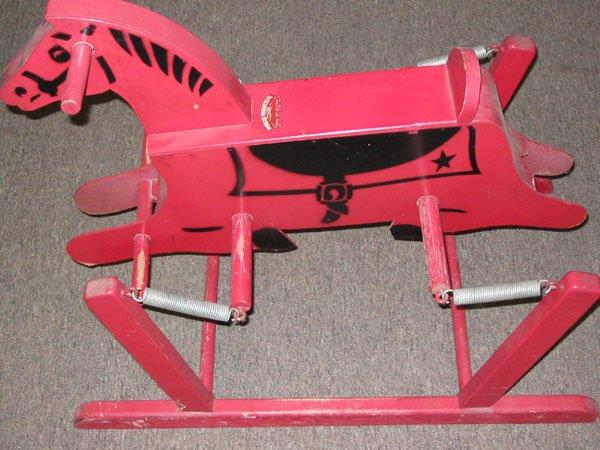 431: WONDER HORSE -RED ROCKING HORSE, TN.