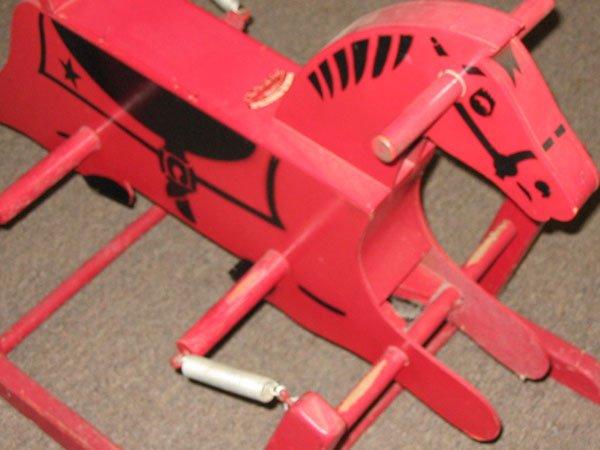 431: WONDER HORSE -RED ROCKING HORSE, TN. - 2
