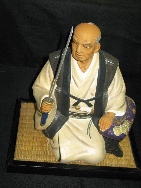 2: HAKATA URASAKI HAND PAINTED DOLL-SAMURAI