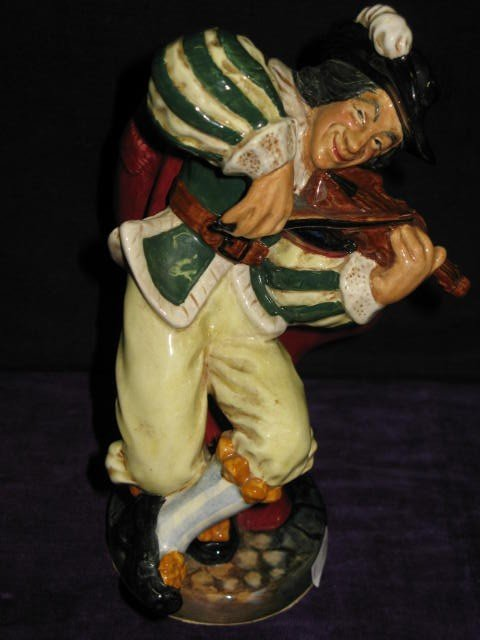 "132: ROYAL DOULTON 'THE FIDDLER"". 1956. #HN2171"