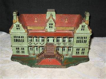 1: PALACE, CAST IRON STILL BANK