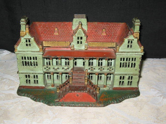 1: PALACE, CAST IRON STILL BANK