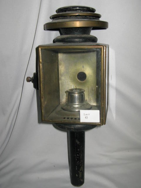 12: CARRIAGE LANTERN (CANDLE RECEPTACLE)